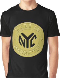 Made In New York Manhattan Graphic T-Shirt