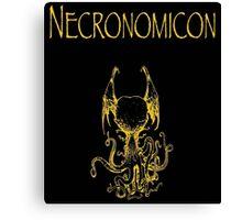 H.P. Lovecraft - Necronomicon Canvas Print