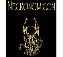 H.P. Lovecraft - Necronomicon Photographic Print