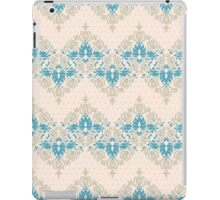 Vintage wallpaper pattern. Abstract floral ornament. iPad Case/Skin