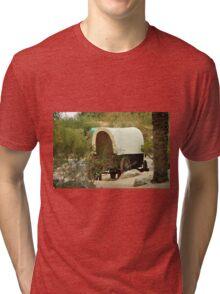 SILVER SPUR RANCH, PALM DESERT CALIFORNIA Tri-blend T-Shirt