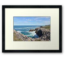 Coastal view Framed Print