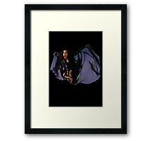 kate bush BAT THE DREAMING Framed Print