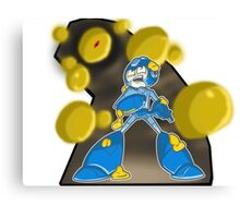 Mega Man v. Yellow Devil Canvas Print