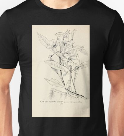 Southern wild flowers and trees together with shrubs vines Alice Lounsberry 1901 115 Floating Jussiaea Unisex T-Shirt