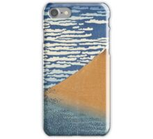 Vintage famous art - Hokusai Katsushika - South Wind, Clear Dawn iPhone Case/Skin