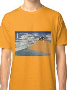 Vintage famous art - Hokusai Katsushika - South Wind, Clear Dawn Classic T-Shirt