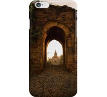 Sunrise Over Ruins iPhone Case/Skin