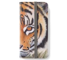 Prowling tiger iPhone Wallet/Case/Skin