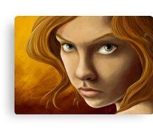 no angels Canvas Print