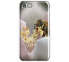 Bee portrait iPhone Case/Skin