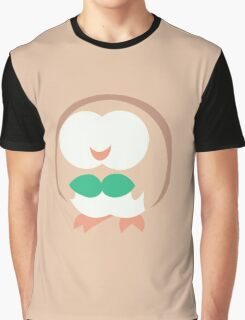 Rowlet Vector Graphic T-Shirt