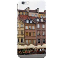 Old Town Market Square Warsaw Poland iPhone Case/Skin
