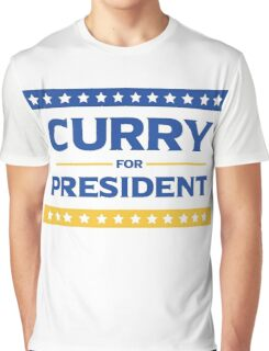 Curry for President Graphic T-Shirt