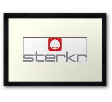 VHEH - Sterkr (Strong) Framed Print