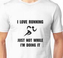 Love Running Unisex T-Shirt