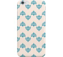 Vintage wallpaper pattern. Abstract floral ornament. iPhone Case/Skin
