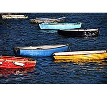 Boats Of Many Colours Photographic Print