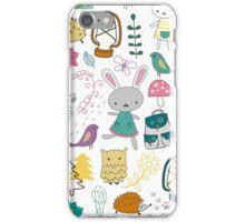 Children's cartoon pattern iPhone Case/Skin