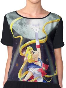 Sailor moon Crystal Women's Chiffon Top