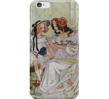 Vintage famous art - Dorothy And The Wizard Of Oz  - Now I Begin To Understand,  Said The Princess iPhone Case/Skin