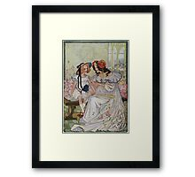Vintage famous art - Dorothy And The Wizard Of Oz  - Now I Begin To Understand,  Said The Princess Framed Print