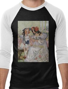Vintage famous art - Dorothy And The Wizard Of Oz  - Now I Begin To Understand,  Said The Princess Men's Baseball ¾ T-Shirt