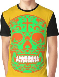 ORNATE MEXICAN SKULL Graphic T-Shirt