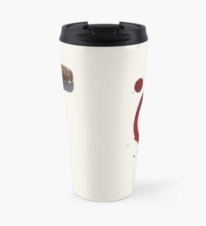Screw It!  Red wine will fix it! Travel Mug