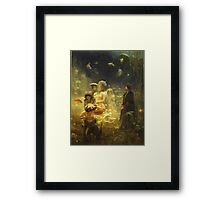 Vintage famous art - Ilya Repin - Sadko 1876 Framed Print