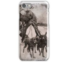 Wolfman Dog Walker (1) iPhone Case/Skin