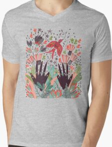 Spring Bird  Mens V-Neck T-Shirt