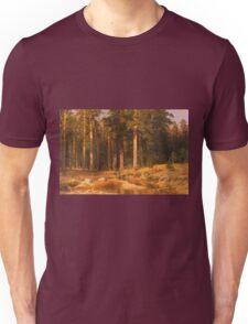 Vintage famous art - Ivan Shishkin - Mast-Tree Grove 1887 Unisex T-Shirt