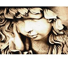 Daydreaming Angel Photographic Print