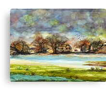 Quiet Dwellings Canvas Print