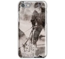 Wolfman Dog Walker ( 2) iPhone Case/Skin