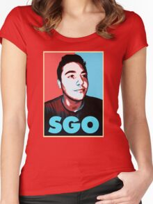 Sgo Rick Women's Fitted Scoop T-Shirt