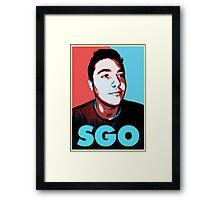 Sgo Rick Framed Print