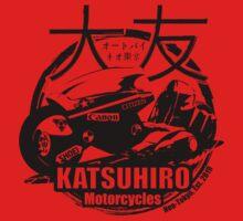 Akira Katsuhrio Cycles One Piece - Short Sleeve
