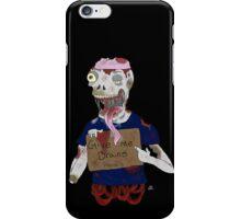 Zombie 1 iPhone Case/Skin