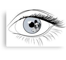 Eye Spy Batgirl Canvas Print