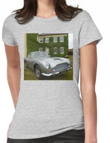 Aston Martin DB6 Womens Fitted T-Shirt