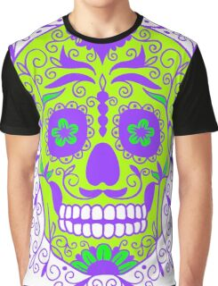 ORNATE MEXICAN SKULL-2 Graphic T-Shirt