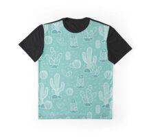 Pattern with cacti Graphic T-Shirt