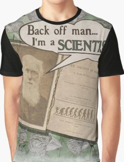 Popular Science: Charles Darwin 2 (distressed) Graphic T-Shirt