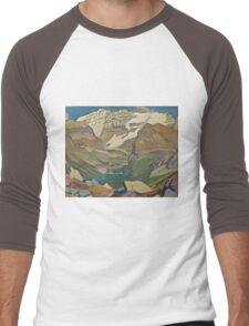 Vintage famous art - James Edward Hervey Macdonald - Lake O Hara Men's Baseball ¾ T-Shirt