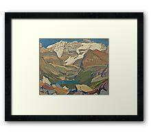 Vintage famous art - James Edward Hervey Macdonald - Lake O Hara Framed Print