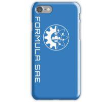 FSAE Logo Blue & White iPhone Case/Skin