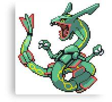 Pokemon - Rayquaza Canvas Print