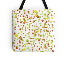 Colorful Fall Leaves Background Tote Bag